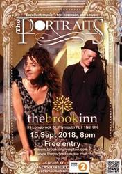 The Portraits live at the Brook Inn, Plympton