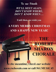 The Robert Sharon Chorale Christmas Message