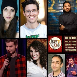 The Setup: Comedy at Genghis Cohen