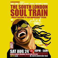 The South London Soul Train Celebrates 12 Years Of The Bussey Building