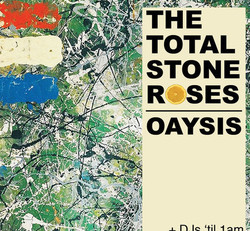 The Total Stone Roses + Oasis tribute live at Half Moon Putney Fri 25 Sept