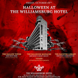 The Williamsburg Hotel Halloween Friday party 2021