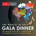 The World in 2017 Gala Dinner: Hong Kong
