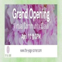The Yoga Corner Grand Opening Free Community Class