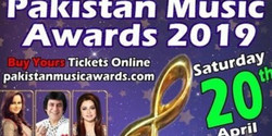 The first ever Pakistan music awards will be held on April 20'19
