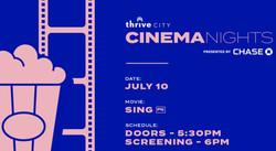 Thrive City Cinema Nights