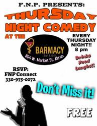 Thursday Nite Comedy at Barmacy