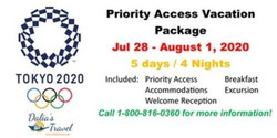 Tokyo Olympics 2020 Vacation Package