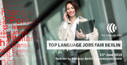 Top Language Jobs Fair Berlin - 15th June. Best jobs for Expats & Bilingual job-seekers