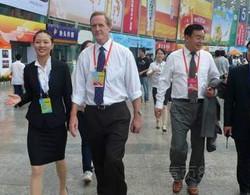 Traductora interprete de chino español en beijing shanghai guangzhou feria de canton