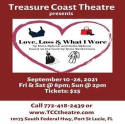 "Treasure Coast Theatre presents ""Love Loss and What I Wore"""