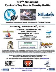 Tucker's Toy Run and Motorcycle/money Raffle