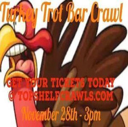 Turkey Trot Bar Crawl - St. Pete