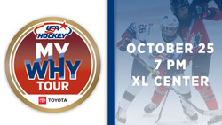 U.s. Women's National Hockey Team vs Canada - The My Why Tour presented by Toyota