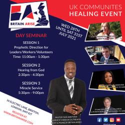 Uk Communities Healing Event