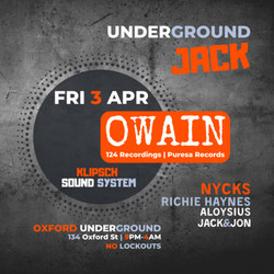 Underground Jack #003 With Owain