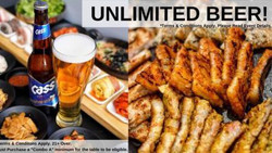 Unlimited Beer With a Korean Bbq Combo at Porkfolio Arcadia, Ca