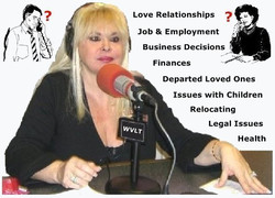 Valerie Morrison - Psychic Medium Radio Talk Show - Call with your Free Question about your concerns