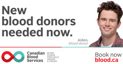Vancouver Blood Donation Event