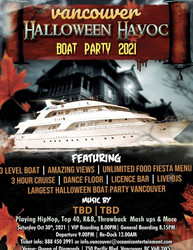 Vancouver Halloween Havoc Boat Party 2021