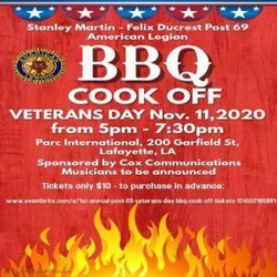 Veterans Day Bbq Cook Off
