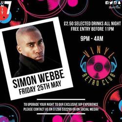 Vinyl Fridays ft. Simon Webbe