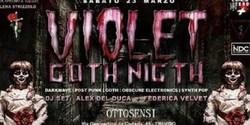 Violet Goth Night