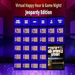 Virtual Happy Hour and Game Night - Jeopardy Edition