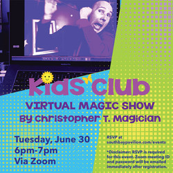 Virtual Kids Club Magic Show