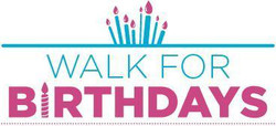 Walk for Birthdays / New England - Every mile helps bring birthday joy to a homeless child