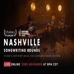 Warner Chappell Songwriter Round // Rhett Akins, Jessi Alexander and Randy Montana