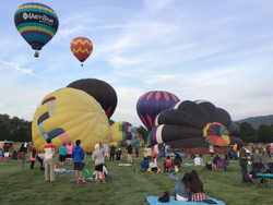 Warren County Hot Air Balloons, Arts and Crafts Festival