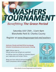 Washers Tournament Benefiting The Grace Period