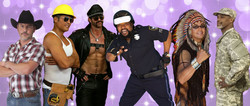 Wednesday Nite Live in Mill River Park starring Village People