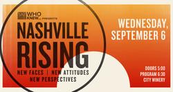 Who Knew Presents Nashville Rising