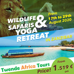Wildlife Safari & Yoga Retreat In Zanzibar