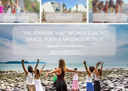 Women´s Sacred Dance, Yoga, Healing and Massage retreat (8 days) Morocco