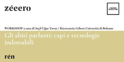 Workshop / Gli abiti parlanti: capi e tecnologie indossabili