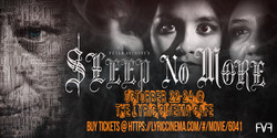 World Premiere of Peter Anthony's: Sleep No More