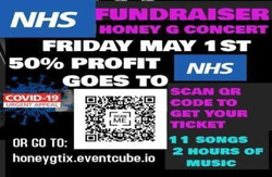 X Factor's Honey G's YouTube Live Concert 15th May 4:30pm-50% Proceeds Go to Nhs Charities Together