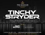 Yfair Sessions w/ Tinchy Stryder, Thu 01 Dec