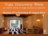Yoga Discovery Week at Serendip Spa Brussels, 3-6 August