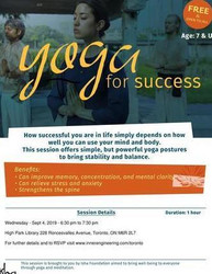 Yoga for Success - a Free Isha Yoga Session on Sep 4, 2019 in Toronto