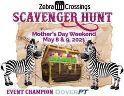 Zebra Crossings Scavenger Hunt