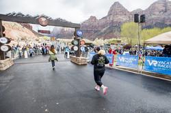 Zion Half Marathon, February 2020