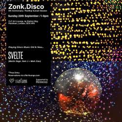 Zonk.disco 8th Anniversary - Rooftop Sunset Session at The Clf Art Lounge, Peckham - Free Entry