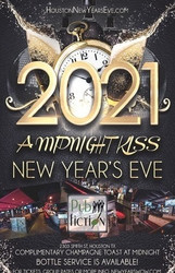 """a Midnight Kiss"" New Year's Eve 2021 at Pub Fiction Houston"