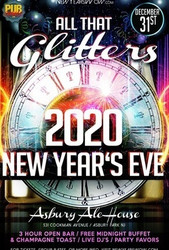 """all That Glitters"" New Year's Eve 2020 at Asbury Ale House (Asbury Park)"