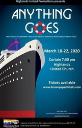 """anything Goes"" presented by Highlands United Productions"