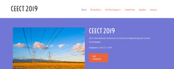 【ei/cpci/scopus检索】2019电力工程与控制技术国际会议(ceect2019)